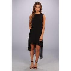 BCBGMAXAZRIA - Lainey Sleeveless Asymmetrical Hem Dress (Black) - Apparel - product - Product Review