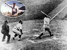 Babe Ruth calls his shot  When Babe Ruth came to bat in the fifth inning of Game 3 of the 1932 World Series, Cubs fans and players taunted the slugger mercilessly. Then, the Sultan of Swat pointed. Over the centerfield fence? Or at the pitcher? Historical evidence is mixed, but legend holds that Ruth predicted a home run and delivered on the next pitch. The homer was his second of the game and led the Yankees to a 7-5 win.