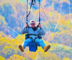 Zip-Flyer is here! Soar over the Pocono Mountains! #MyCamelback