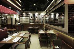 Grappa's Ristorante bar and restaurant by 4N design architects, Shanghai » Retail Design Blog