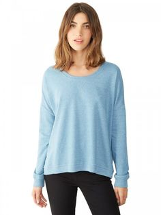 Alternative Ladies French Terry Sunset Crewneck Pullover (FREE SHIPPING)