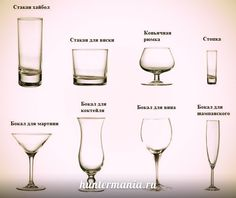 Types Of Glasses Stunning Of An Introduction To The Types Of Cocktail Glasses Types Of Cocktail Glasses, Types Of Drinking Glasses, Types Of Wine Glasses, Different Types Of Glasses, Types Of Cocktails, Types Of Alcoholic Drinks, Alcohol Glasses, Liquor Glasses, Glasses Guide