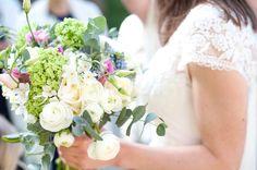 Bridal bouquet - spring flowers