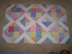 Busy Hands Quilts: 1930s Reproduction Quilt Top