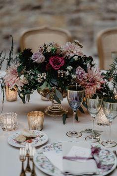 Blush and Burgundy Garden Wedding in Italy Mod Wedding, Italy Wedding, Wedding Trends, Wedding Styles, Wedding Ideas, Wedding Centerpieces, Wedding Bouquets, Centerpiece Ideas, Enchanted Garden Wedding