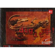 Jacob any dino dig it up kit approx $19