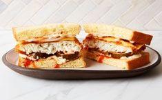 Nashville Hot Halibut Sandwich Sammy, Fish Sandwich, Fried Fish, Fish And Seafood, Food Menu, Meals For One, Sandwiches, Nashville, Maple Tree