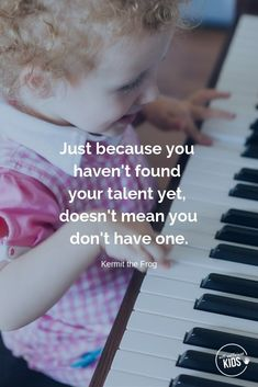 """""""Just because you haven't found your talent yet, doesn't mean you don't have one."""" - Kermitthe Frog These growth mindset quotes will inspire both you and your kids to work hard, not give up, and to view challenges and failures as opportunities. #growthmindset #growthmindsetquotes Parenting Quotes, Kids And Parenting, Foster Parenting, Parenting Tips, Growth Mindset Quotes, Love Challenge, Positive Discipline, Parent Resources, Christian Parenting"""