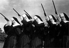O Exército de freiras e o Menininho