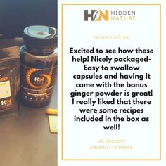 See what others tell about our product! Continue your path into the hidden nature with Hidden Nature Organic Turmeric Curcumin on SALE  on Amazon ➡️ https://goo.gl/1kMhUD