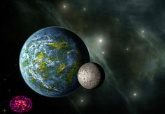 Astronomy Picture of the Day -- Earth-size Planet Design, Planets And Moons, Astronomy Pictures, Science Fiction Art, Galaxies, Concept Art, Sci Fi, Earth, Drawing Board