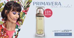 Seleção de produtos para a Primavera: compre agora na Rede Natura o deo parfum Esta Flor de Laranjeira com desconto especial. Promoção válida de 22 a 25/set ou enquanto durarem os estoques.