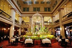 Walnut Room, Macy's, Chicago, IL. Though Marshall Field's, dating from 1907, is now a Macy's, the venerable Walnut Room on the seventh floor remains. This classic restaurant, decorated with walnut paneling and crystal chandeliers has an Old World elegance that is hard to match in any restaurant, let alone one in a department store.