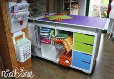 Wer von einem eigenen kleinen Atelier träumt, braucht auf jeden Fall einen geeigneten Platz für die Nähmaschine und eine große Ablagefläche. Glücklicherweise müssen nicht unbedingt teure Schneidertische gekauft werden, um diesen...