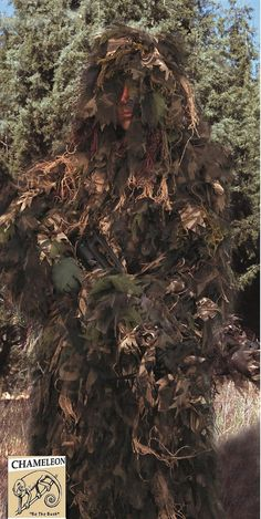Bush Rag Chameleon Synthetic Ghillie Suit Hunting Jacket & Hood One-Piece Combo http://riflescopescenter.com/category/nikon-riflescope-reviews/