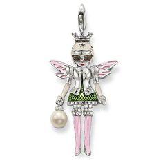 Thomas Sabo Great Pink Doll Charm