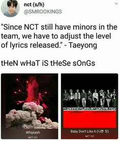 Nct memes cause why not¿ Taeyong, Nct 127, Nct Life, E Dawn, Funny Kpop Memes, Fandoms, Day6, Winwin, Text Posts