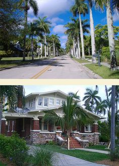 Dean Park Historic Residential District, Fort Myers. Bounded by First Street, Palm Avenue, Michigan Avenue, Evans Avenue.