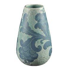 Swedish Art Deco JOSEF EKBERG for GUSTAVSBERG Porcelain Vase Dated 1921 Ref: P3041