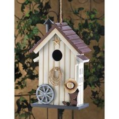 Western Barn Birdhouse   $19.95   Lexi's Kreationz, LLC   http://lexiskreationz.storenvy.com/products/883583-western-barn-birdhouse