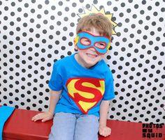 Super Sam's 4th Birthday Bash  - Superheros