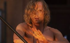 Dustfinger from Inkspell <3 Okay so I know he was Dustfinger in the movie, but I thought they casted him perfectly :)