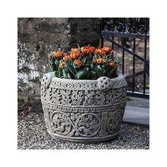 Campania International, Inc Round Pot Planter Finish: Natural