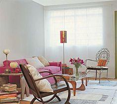 small room decoration published in a brazilian magazine (Casa Claudia)