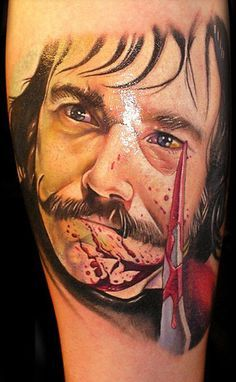 Bill 39 the butcher 39 cutting characters i love for Butcher knife tattoo