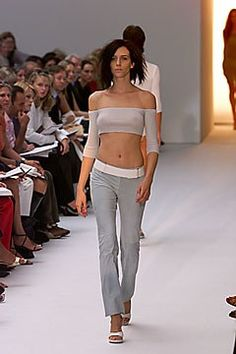 Strenesse Spring 2000 Ready-to-Wear Fashion Show - Hannelore Knuts, Gabrielle Strehle