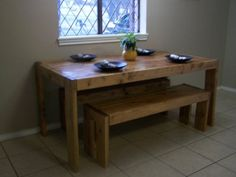 Modern Farmhouse Table   Do It Yourself Home Projects from Ana White