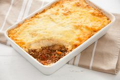 Cottage Pie with Cauliflower Topping