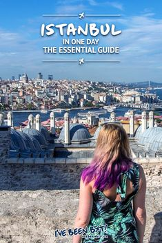 As Turkey's largest city, seeing all of Istanbul in one day is impossible but this guide shares the essential spots ensuring a perfect day in the city! Europe Destinations, Europe Travel Guide, Travel Deals, Asia Travel, Turkey Destinations, Europe Budget, Travelling Europe, Travel Packing, Best Travel Guides