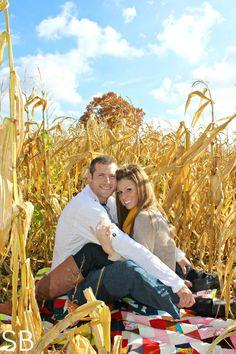 Autumn Engagement Session | Sara Beth Photography - Sparta, Michigan