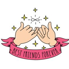 cam et moi Best Friend Drawings, Bff Drawings, Best Fiends, Dear Best Friend, Girly M, Kawaii Doodles, Tumblr Love, Tumblr Stickers, Bff Quotes
