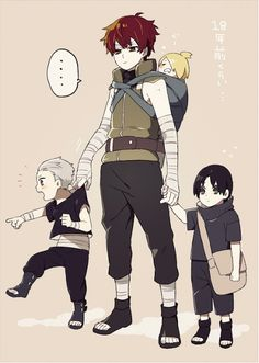 Little Hidan, Sasori, Oh MY GOSH Deidara! XD, and little Itachi :)