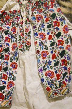 Ukranian folk embroidered shirt