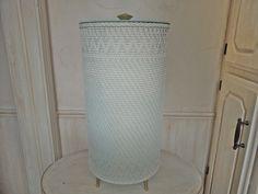 Vintage Wicker Laundry Hamper Wicker Laundry Basket от frenchtwine