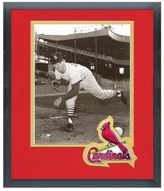 "Ray Sadecki St. Louis Cardinals Circa 1965 - 11"" x 14"" Framed & Matted Photo"
