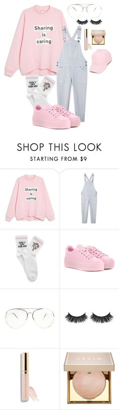 """Untitled #2701"" by mfr-mtz ❤ liked on Polyvore featuring Monki, Rebecca Minkoff, Yeah Bunny, Kenzo, Battington, Beautycounter, Stila and F.A.M.T."