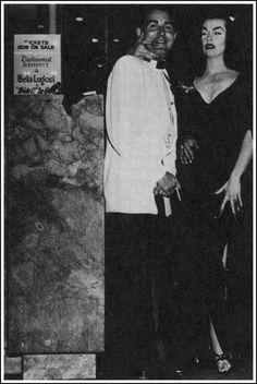 Ed Wood Jr. & Vampira