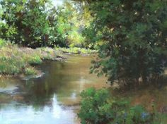 Summer Peace by LaVone Sterling Pastel ~ 16 x 20