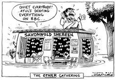The Other Gathering - Zapiro Cartoons Jacob Zuma, Comics, Memes, Funny, Cartoons, 4 August, Politics, Twitter, Cartoon