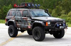 1996 Jeep Cherokee XJ Wrap // A1A Sign Wave.