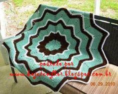 Maravilhoso esse tapete encontrado na net , vejam essas lindas combinações de cores   Quer ver outros lindos modelos? Clique aqui      ...