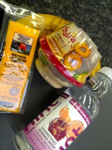 healthy travel snacks! #MindfulTravel #MindfulEating #Snacks www.OurMLN.com