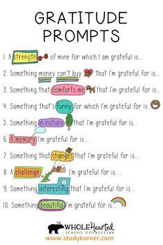 Psychology Tips: Gratitude Poster for Kids - StudyKorner