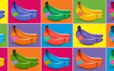 Les Bananes de Guadeloupe & Martinique Version Pop art