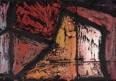 Artist : Jeff Lowe Title : Untitled 17 Media : Original - Acrylic on Paper Size : 29.5 x 21cm Price : www.ArtCatto.com