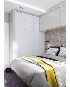 Elegant Bedroom Design, Luxury Bedroom Design, Bedroom Bed Design, Home Room Design, Condo Bedroom, Room Decor Bedroom, Teen Room Furniture, Bedroom Cupboards, Small Master Bedroom